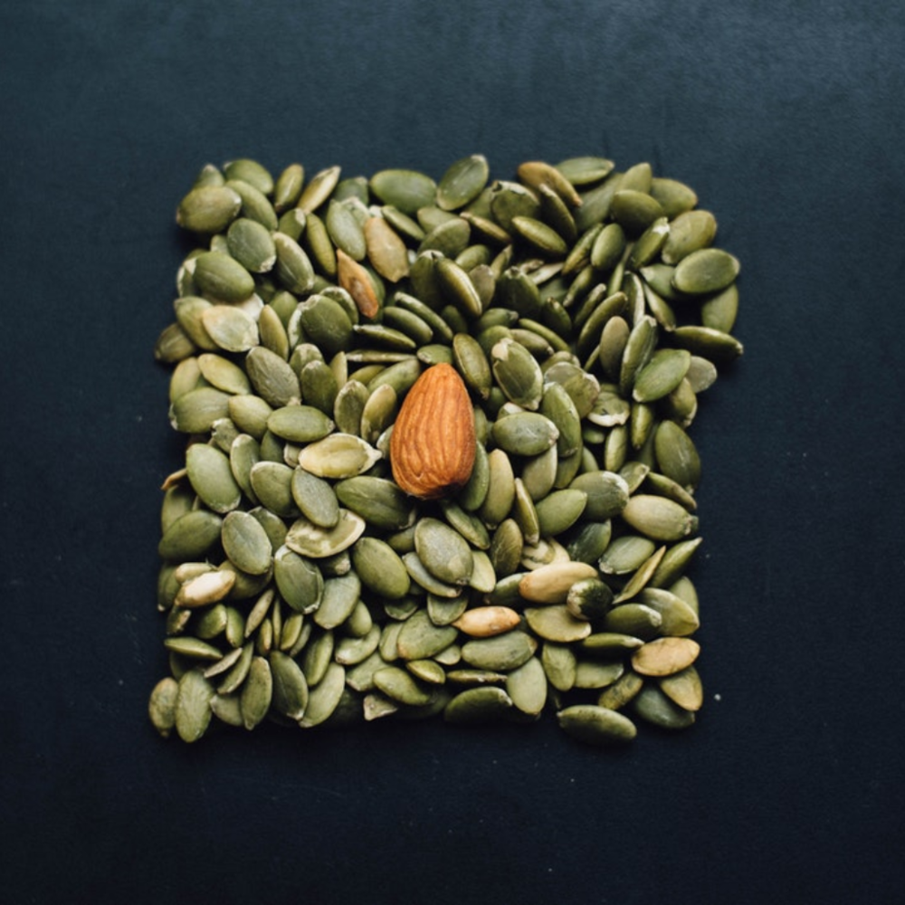 2. Roast Your Own Pumpkin Seeds - For another fall favorite, try roasting your own pumpkin seeds! Roasted pumpkin seeds are very easy to prepare and require few ingredients. If you are short on time, however, most health food stores will carry roasted pumpkin seeds or pepitas that are either sweet or salted. On occasion I have found pumpkin spice or tamari flavored ones as well! Try this simple recipe to make your own.