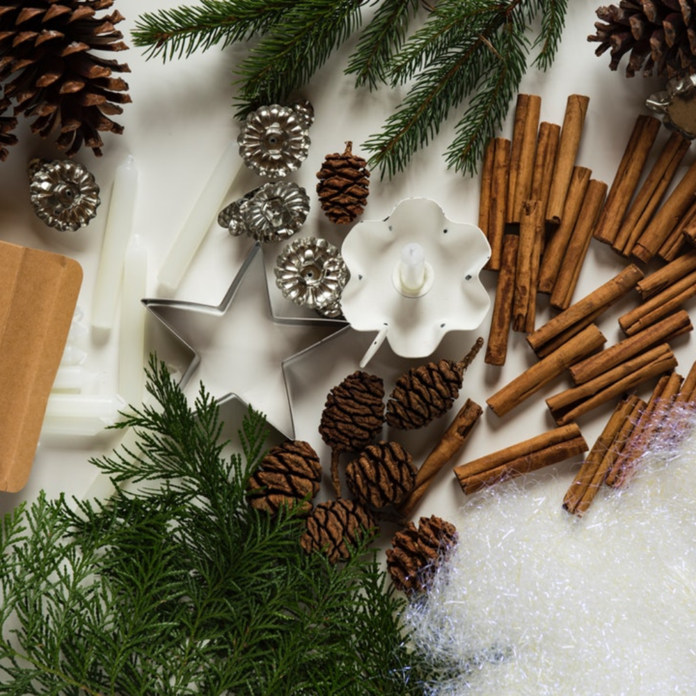 1. keep decorations in clusters - Keeping decorations in a few key areas such as the living room coffee table, mantel, bathroom, and dining table keeps a neat appearance while still feeling decorated, and most importantly it cuts down on the time you have to spend making sure everything is staying in it's place and clean.