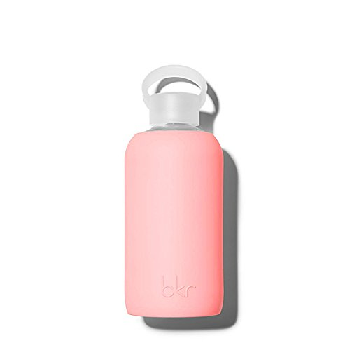 bkr Glass Water Bottle - This bkr glass water bottle is one of our favorite ways to stay hydrated. It has the perfect sized spout and features protective rubber for easy gripping.