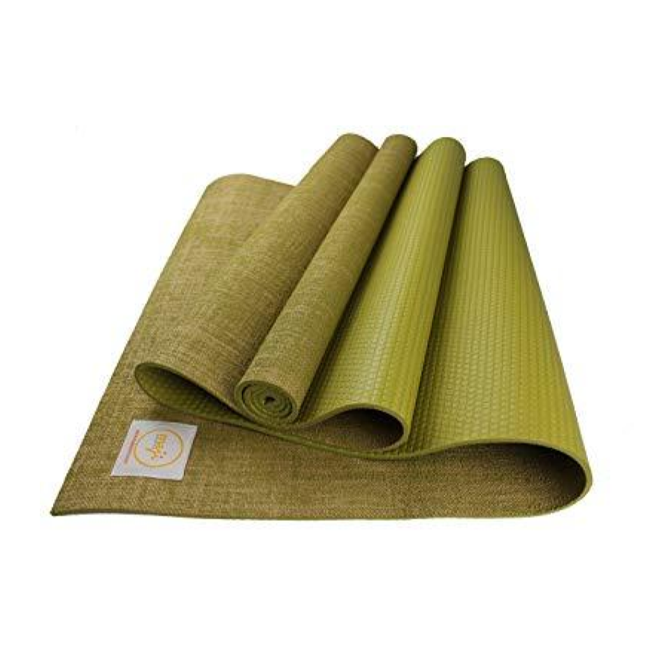 Maji Sports Jute Yoga Mat - The Maji Sports Yoga Mat is durable with a thick cushion, perfect for your daily yoga practice. This mat is easy to customize with many colors and sizes.