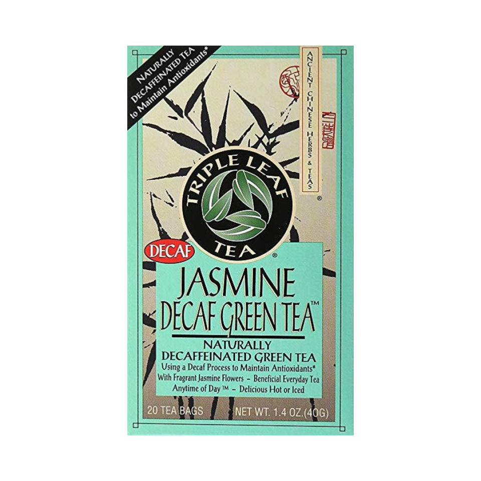 Jasmine Decaf Green Tea - We love our green tea and we love our decaf! This jasmine decaf green tea is light and lovely and is a calming ritual to add to your morning routine.