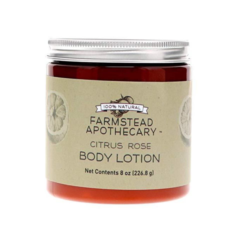 Organic Body Lotion - We love this organic body lotion that is made with eight ingredients or less! This lotion is scented with real fruit and feels soft and luxurious on the skin.