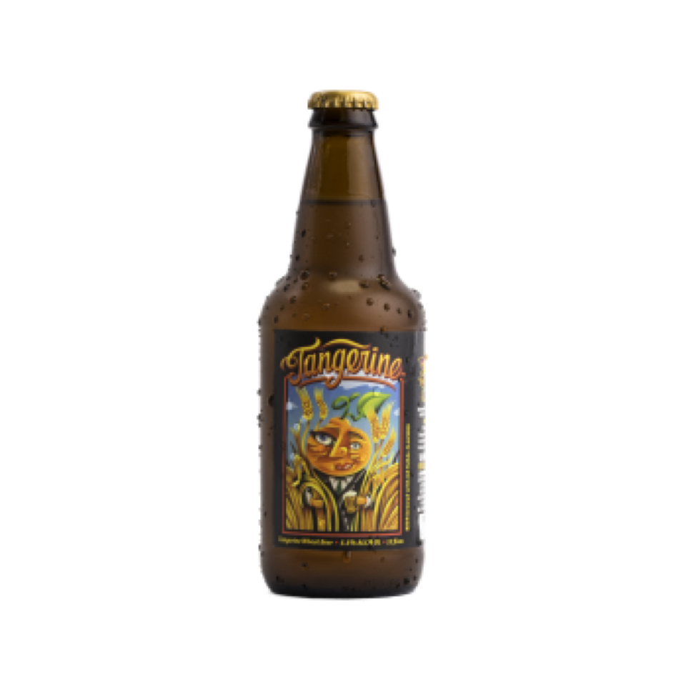 Lost Coast Tangerine - Lost Coast Tangerine drips with fresh citrus notes and lingers with a hint of honey wheat. This brew is light and easy to drink and boasts a robust yet delicate flavor combination. It pairs wonderfully with a variety of appetizers and is the perfect sip to start off any party.