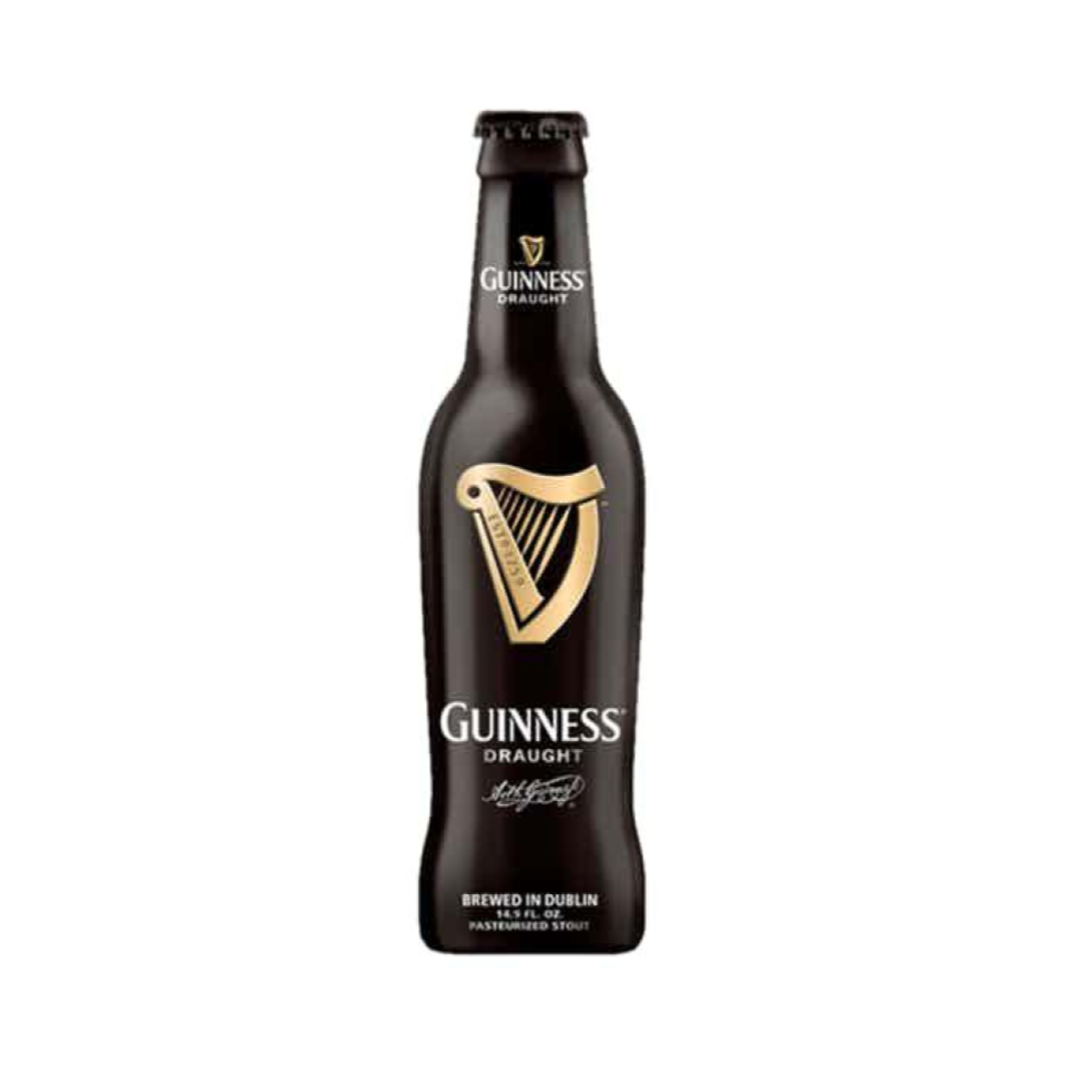 Guinness - You can't go wrong with good old Guinness. The Irish Stout is known all over the world for its rich flavor, deep dark color, and the perfect amount of creaminess. End the day in perfection with a freshly poured Guinness float for a fun beer-friendly dessert option.