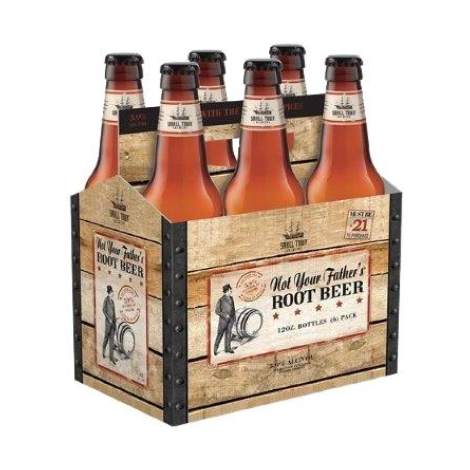 Not Your Father's Root Beer - This unconventional beer option is best known for its rich, sweet flavor and nostalgic root beer taste. Not Your Father's Root Beer is a hard root beer that can be sipped on by itself, or paired with sweet and spicy appetizers. This beer is on the sweeter side and will most definitely be enjoyed by your guest with the sweet tooth.