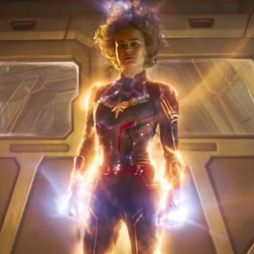 CAPTAIN MARVEL - Captain Marvel: A Hero's Journey of Authenticity and Strength...