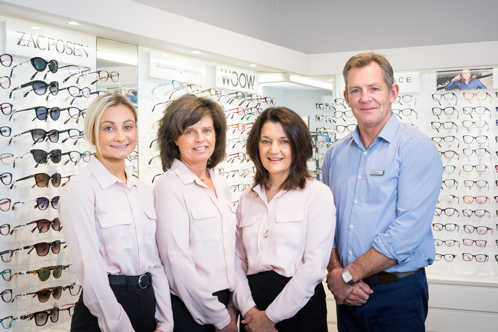 Graham Hill Eyecare • Spectacle Team