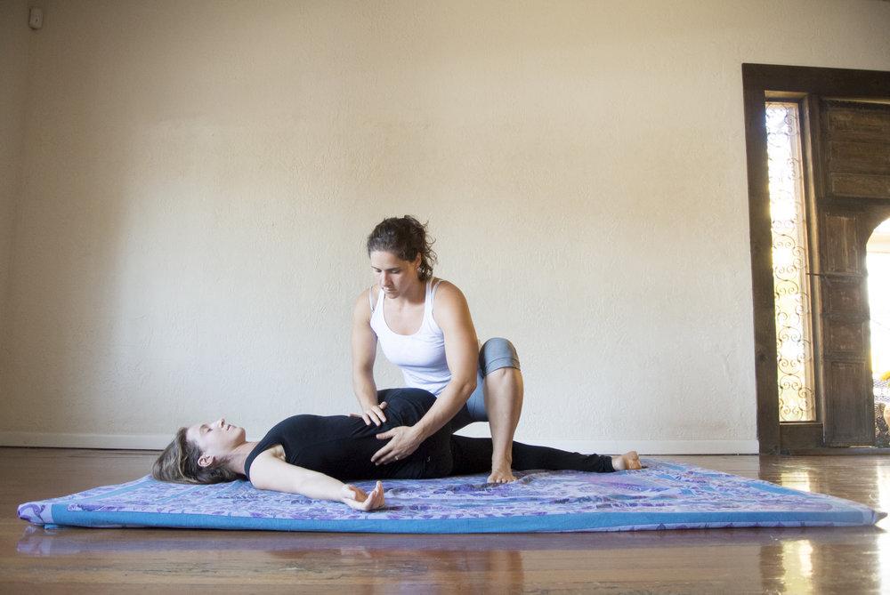 yoga sarah yovovich thai bodywork open space anchorage yoga alaska workshop immersion