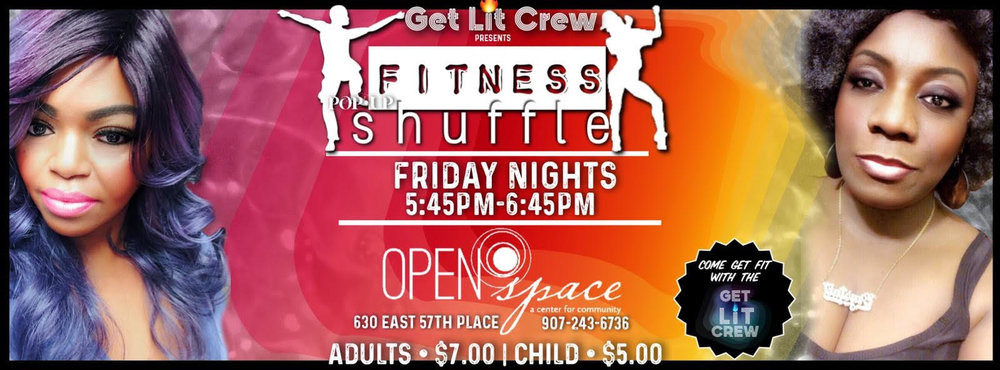 friday night, anchorage, open space, alaska, get fit crew, cardio, fitness, line dances, dancing, anchorage dance