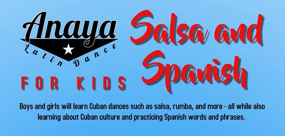 salsa, kids, alaska dance, dance in anchorage, open space