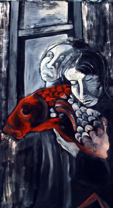 "Oil On Canvas 35""x50"" 1998"