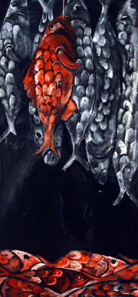 "Oil On Canvas 30""x50"" 1998"