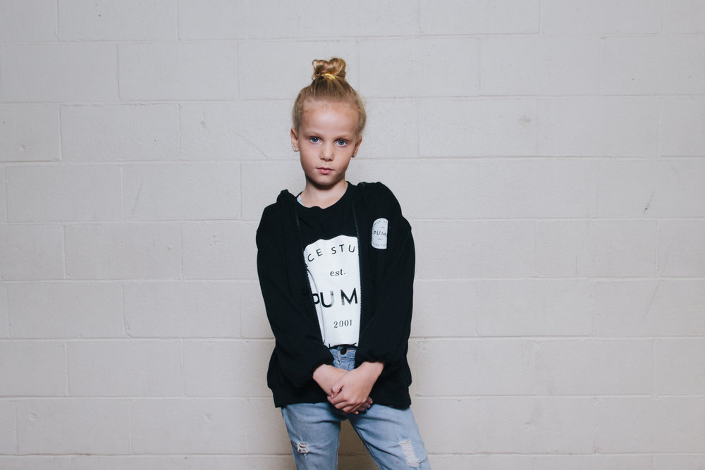 Youth Hoodie (front view) $65