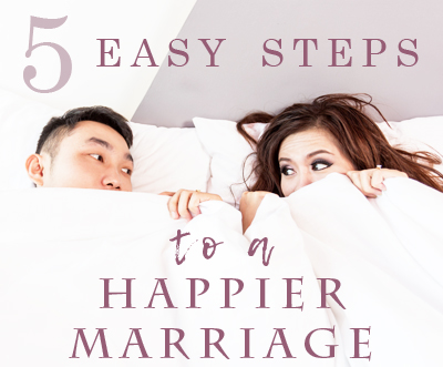 easy steps to a happier marriage