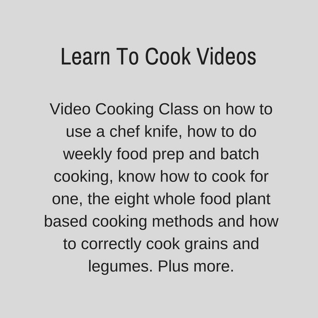 I Feel Good Adam Guthrie Plant Based Program Learn To Cook Videos