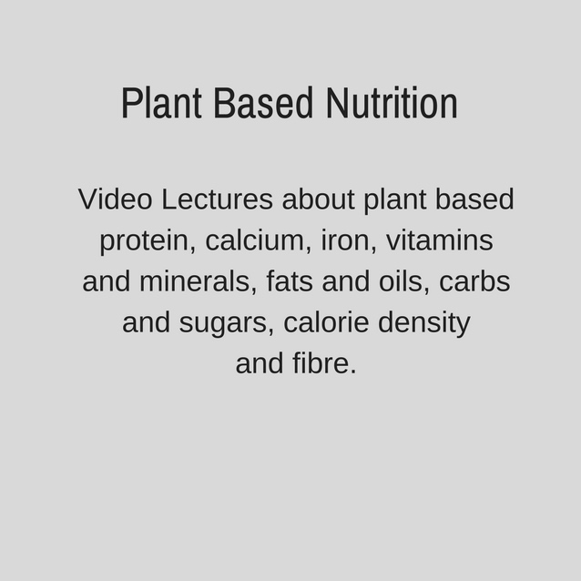 I Feel Good Adam Guthrie Plant Based Program Nutrition Lecture