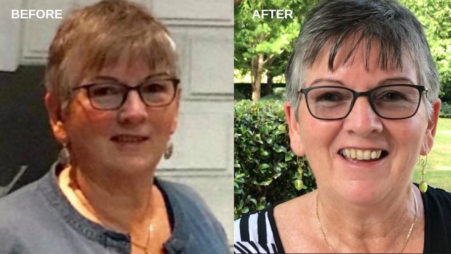 Karen Cornish I Feel Good Plant Based Program Before and after.jpg