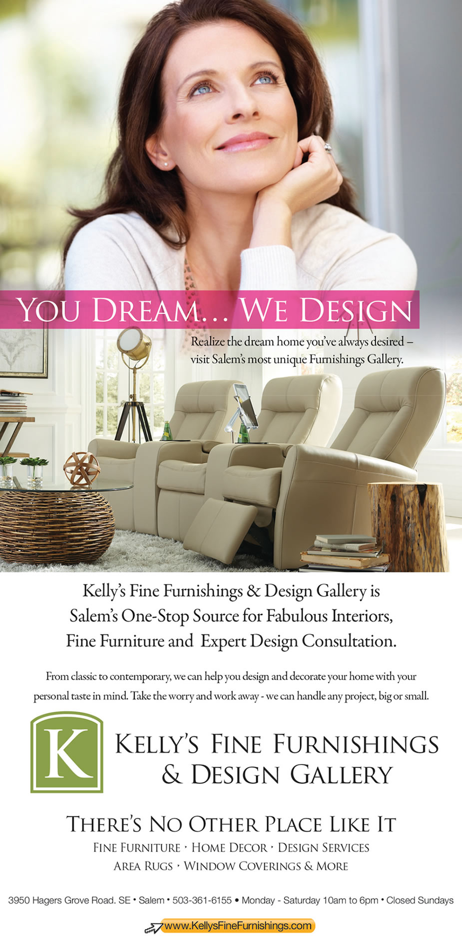 Kelly's Fine Furnishings & Design Gallery
