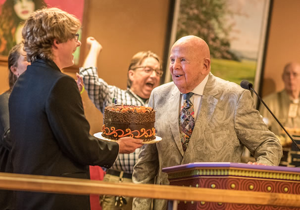 Salem Magazine: Gerry Frank's 93rd Birthday Cake