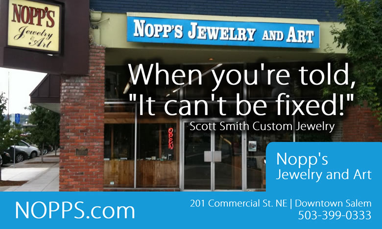 Salem Magazine: Nopp's Jewelry and Art