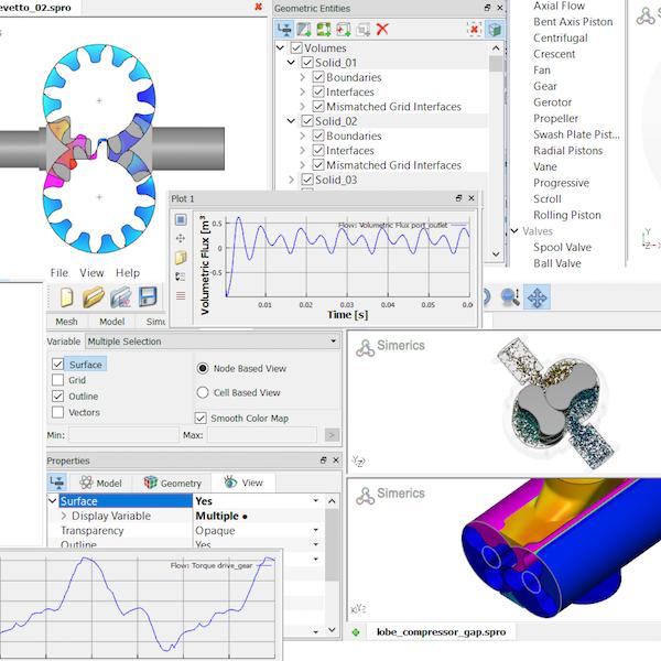 PumpLinx - PumpLinx è un prodotto di analisi fluidodinamica specificamente sviluppato per il calcolo di pompe e macchine a fluido rotative.