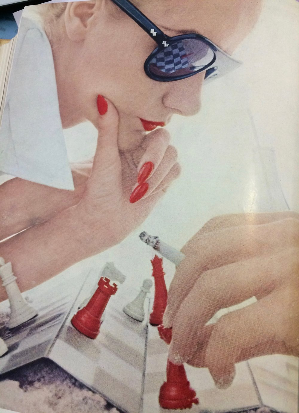 Summer colours, British Vogue 1952