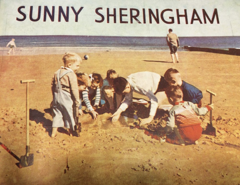 I wish I was off to sunny Sheringham today; however, my characters do make it to Sheringham in  The Running Lie.
