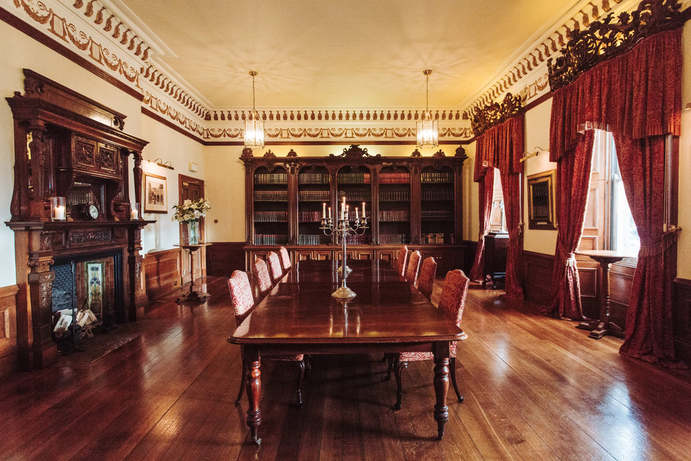 Rudby Hall - Corporate Set-Up in Library.jpg