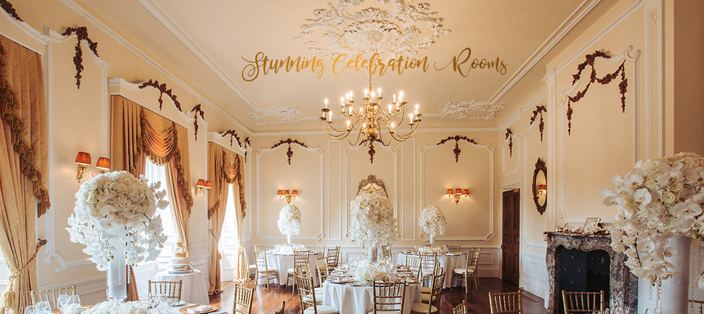 Stunning Celebration Rooms