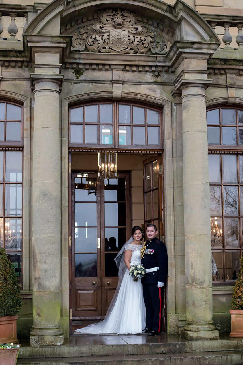 Emma and Steven Wallace  - Royal Heritage Stately Home Celebrates Milestone 100th Wedding Saturday 3rd February 2018