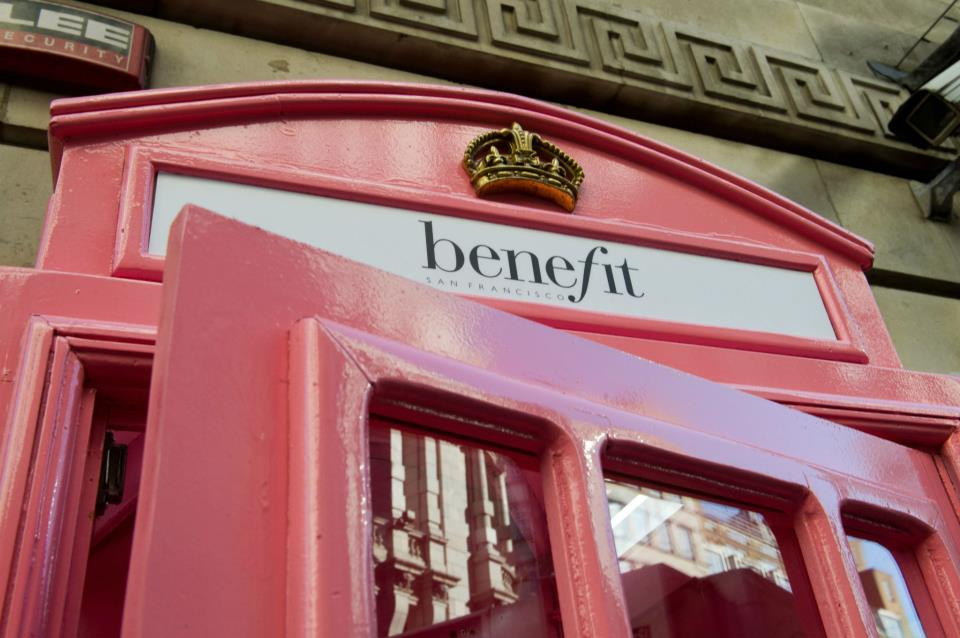 BENEFIT PINK<br>TELEPHONE BOX