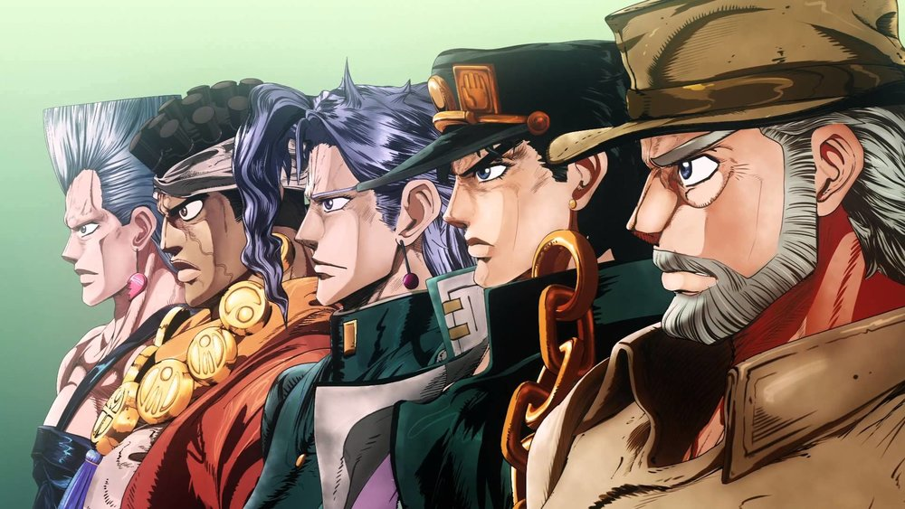 My Return To Anime Jojos Bizarre Adventure Stardust Crusaders Region99
