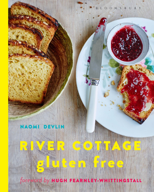 River Cottage Gluten Free by Naomi Devlin   Published by Bloomsbury 2016  My first cookbook, written for River Cottage where I teach courses throughout the year. Available in all good bookshops and online retailers
