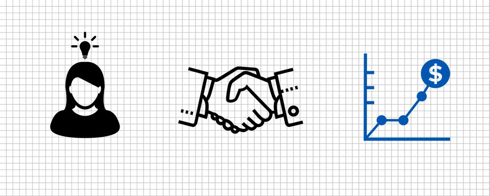 Making money through partnerships