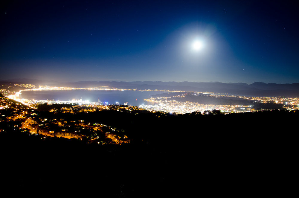 Wrights Hill at Night