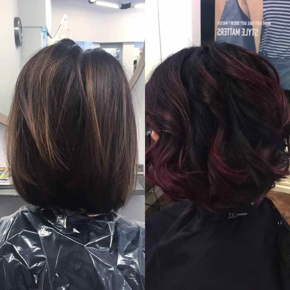 Elumen hair colouring in Clevedon