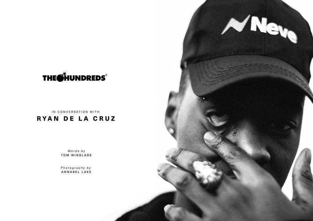 Ryan De La Cruz for The Hundreds