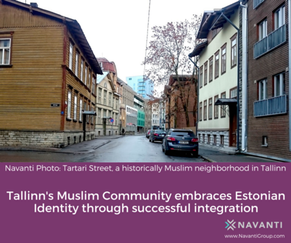 Tartari Street, A Historically Muslim Neighborhood in Tallinn