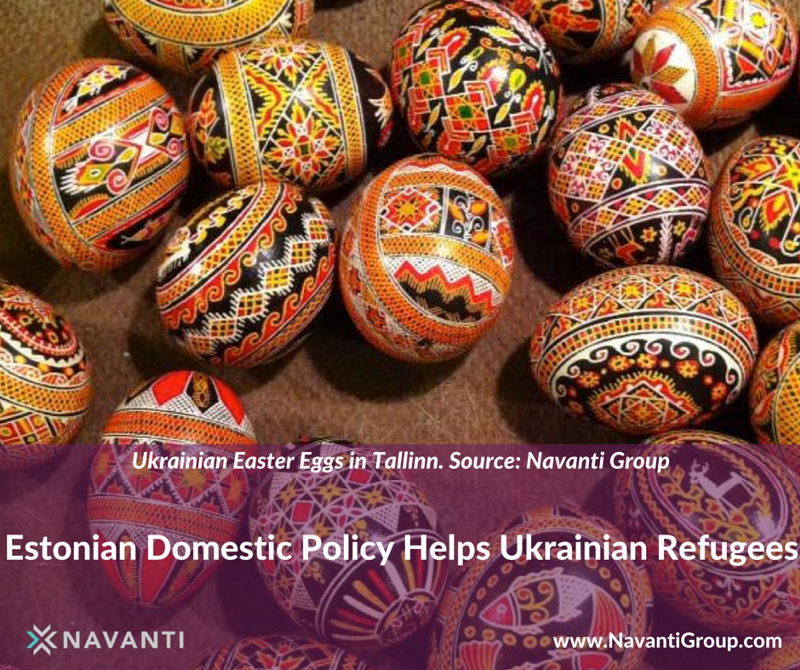 Ukrainian Easter Eggs in Tallinn
