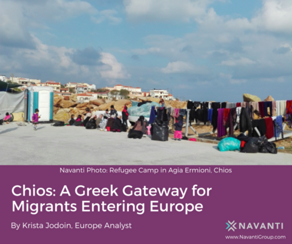 Refugee Camp in Agia Ermioni, Chios