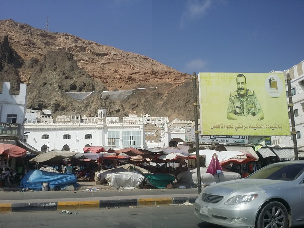 The Umar Mosque in the city of Mukalla, a former AQAP stronghold where the EHF now patrols. Source: Navanti Group