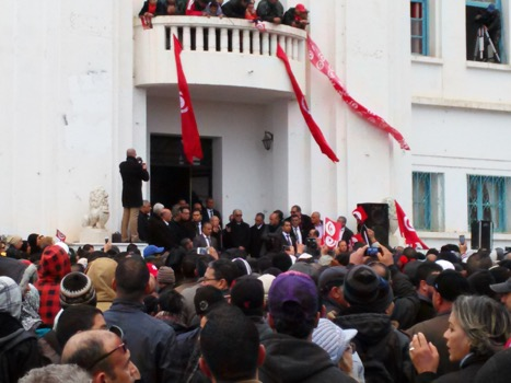 Beji Caid Essebsi presidential rally in el-Kef, 17 DEC 14