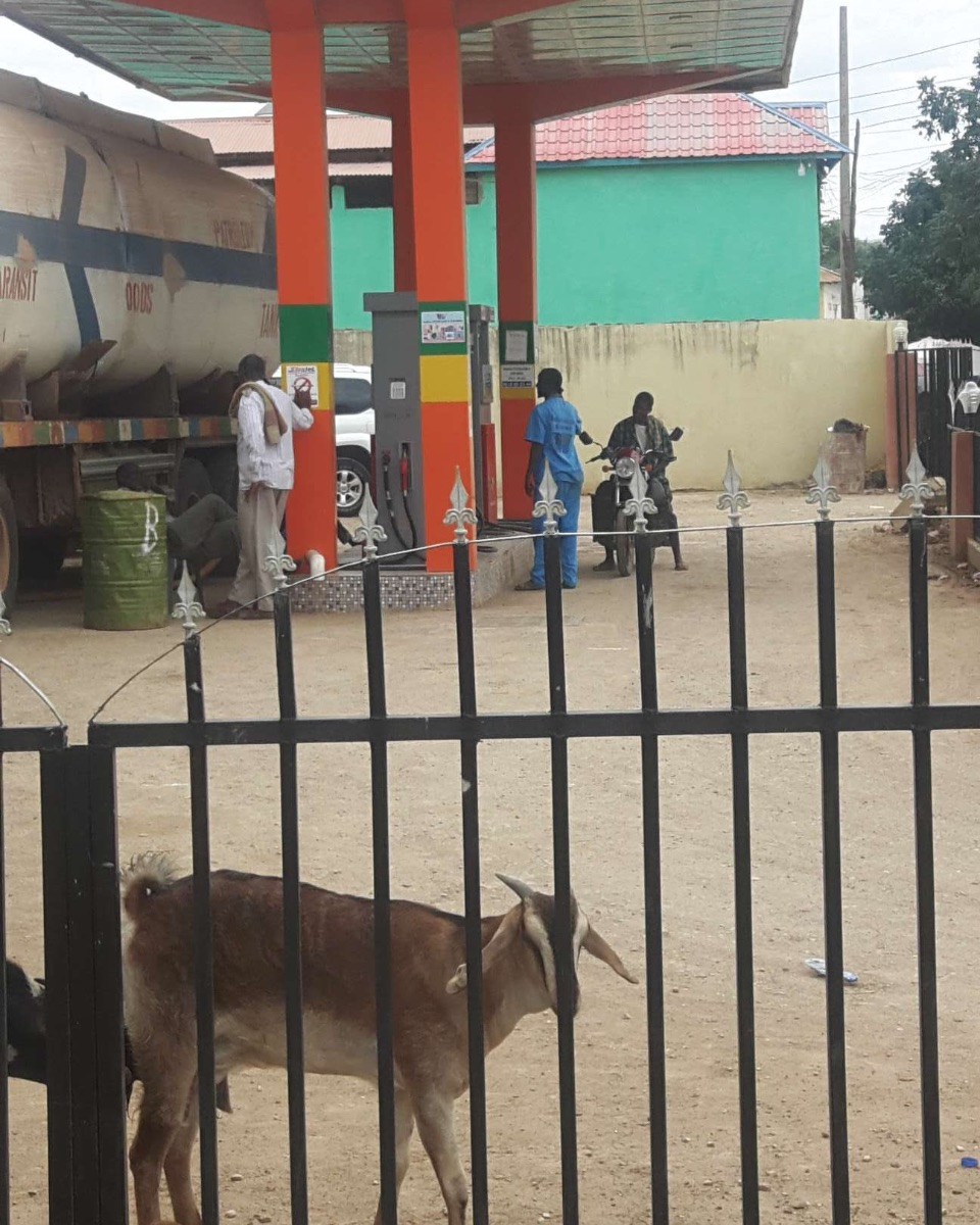 Gas station in Baidoa, Somalia. Source: Navanti