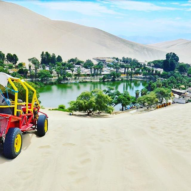 The final day is Day 9! Today we will head to Huacachina, a real life oasis in the Peruvian desert. At this miraculous, magical mirage we will drive over the sand dunes on buggies known as Areneros and sandboard down the slopes before taking a look around this piece of natural beauty where a handful of locals actually live. The water is said to be therapeutic and medicinal according to legend and many tourists bathe in it to find cures to ailments from asthma to anxiety. Another rumour is about a mermaid who was said to still inhabit the lagoon here.  What will you find? Awe and breathtaking beauty at the very least.