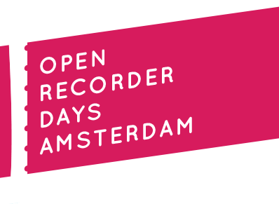 Open Recorder Days Amsterdam