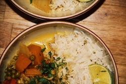 Thai Veggie curry