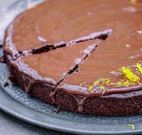 Dark Choc Orange Cake