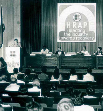 Early HRAP Convention held at the Philippine International Convention Center