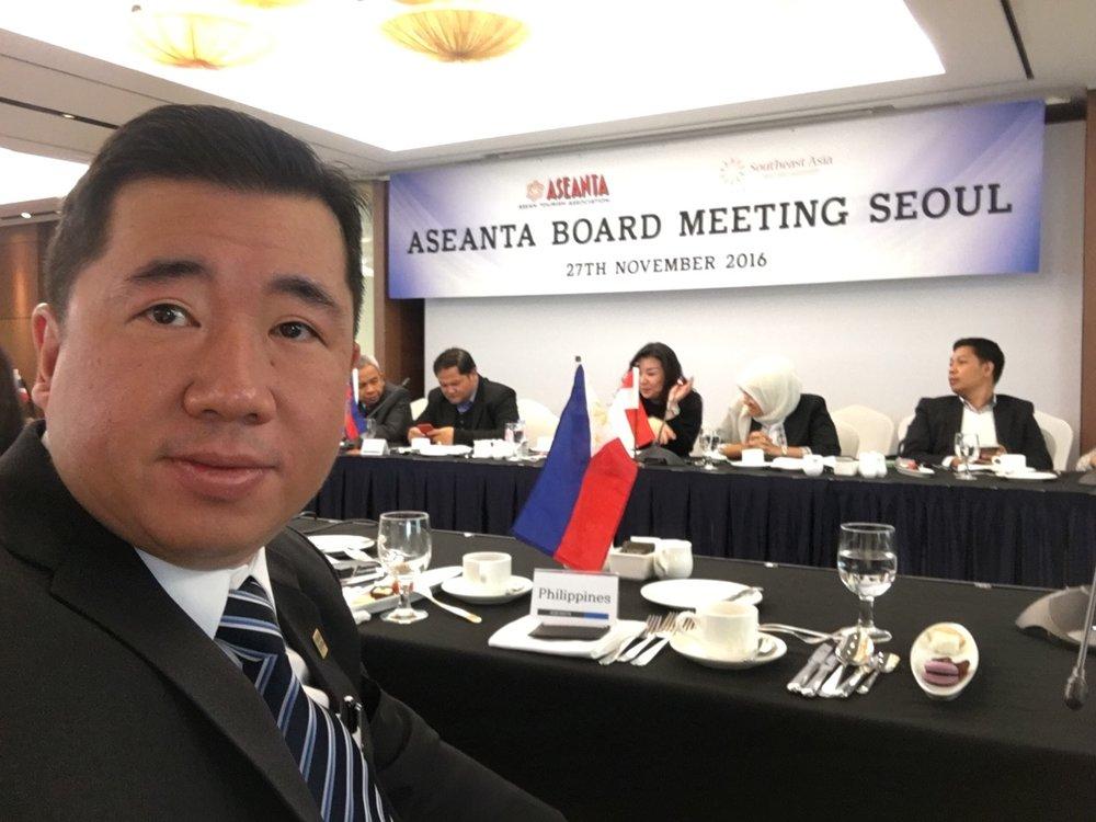 ASEANTA Meeting in Seoul, South Korea with Eugene Yap -