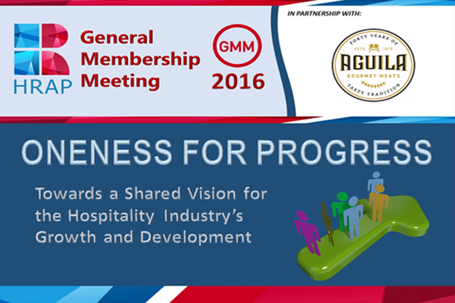 General Membership Meeting 2016 -